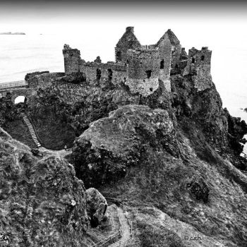 Dunluce castle by crh