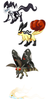 Fakemon: EONS! who doesn't like Eons?! by That-One-Leo