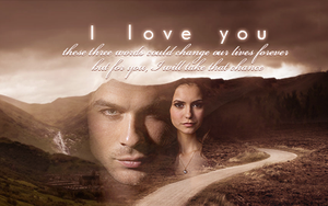 Damon and Elena: I Love You by SimplyDreams