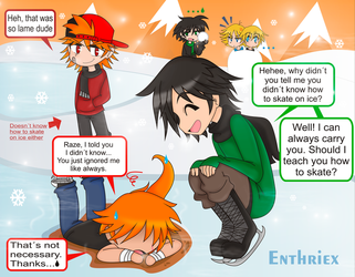 Contest- Ice Skating by Enthriex