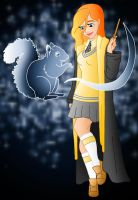 Disney Hogwarts students: Giselle by Willemijn1991