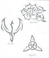 Tattoo Designs by artattack666