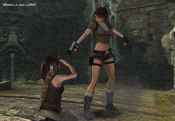 Lara Croft - Please bring our lara back!!! 02 by isagiiirlyB