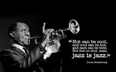 Louis Armstrong (Jazz) by evilwonders