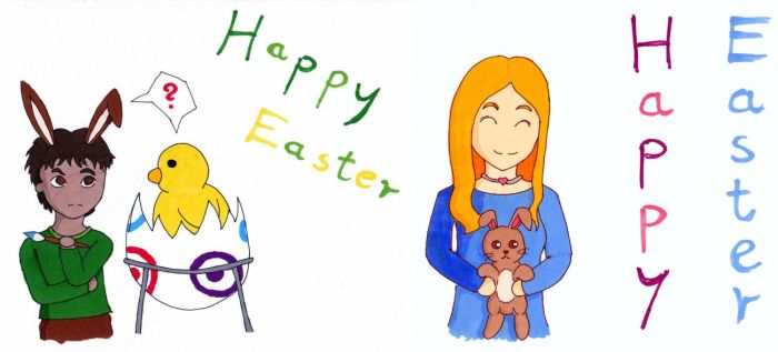 Happy Easter 2017 by Gato-Nephist