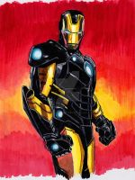 Iron-Man by JohnHughesArt