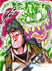 Charity Sketchcard4 Ray by skulljammer