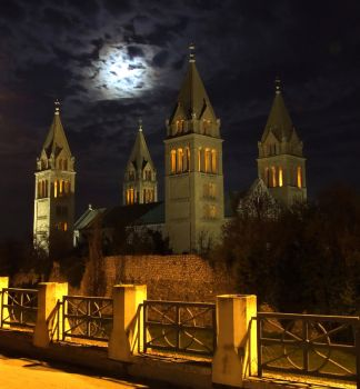 Cathedral of Pecs II, Hungary by hungarians