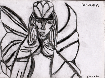 Inktober TDC Challenge-Day 13- Maudra by charmsp1