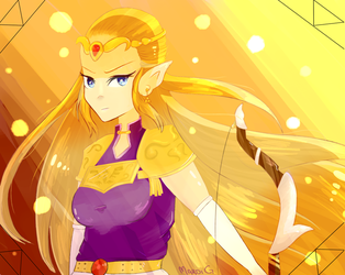 Zelda by TeaNotAvailable