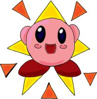 Starry Kirby by Froggy-Spaztastic