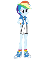 Rainbow Dash Redesign by psshdjndofnsjdkan