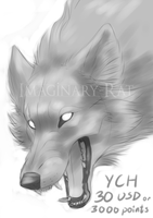 Vicious - wolf YCH closed by ImaginaryRat