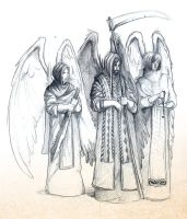 Three Angels by barelt1