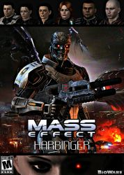 Mass Effect: Harbinger (game cover) by GothicGamerXIV