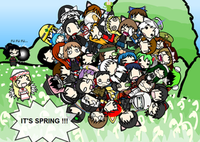 Crazy spring by Hao-007