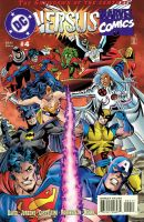 DC vs. Marvel / Marvel vs. DC #4 by englandhalifax