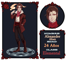 Wrp - Alexander Altair - Elemental by Blue-Crocodile
