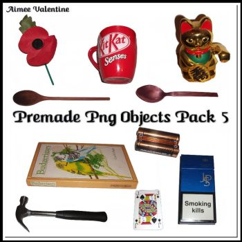 Premade Png Objects Pack 5 by Lady-Valentine-Art83