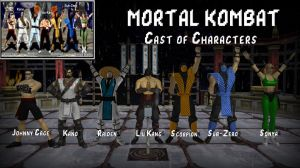 Mortal Kombat 1 - Cast of Characters by Joel1122334455