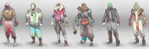 Clothing Variations by BrotherBaston