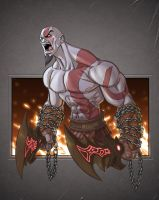 Ghost of Sparta: Kratos by Chadwick-J-Coleman