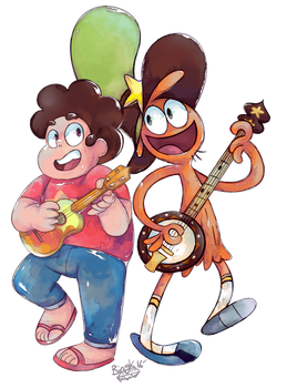 Jam Buds From Across the Universe by Bingk