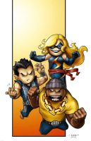 Lil Dude Avengers 2 by MARR-PHEOS