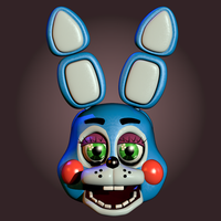 Toy Bonnie v1 W.I.P by CoolioArt