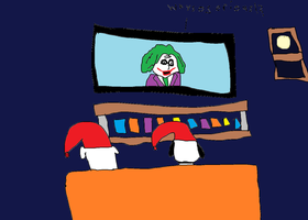 Brian and Snoopy Watching Night Time Movie by Simpsonsfanatic33