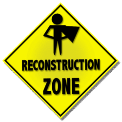 Reconstruction Zone logo by ShadowWingTronix