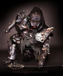 leather armor  orc by Lagueuse