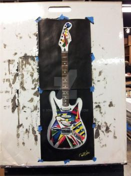 Abstract Guitar by 3O5cky
