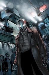 Agent 42, Issue 3 Cover by EagleGosselin