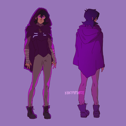 that purple witch by kiilea