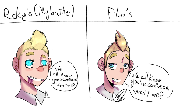 Ricky vs FLo by FloreFLo300