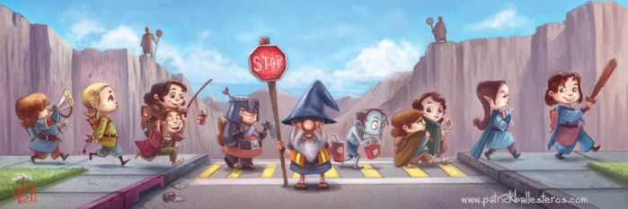 You Shall Not Pass by patrickballesteros