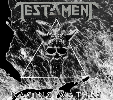 Custom Album Cover: Testament - Raging Waters by rubenick