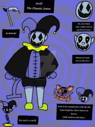 Reference for Jevil Roleplay Account. by KillerKawaii1