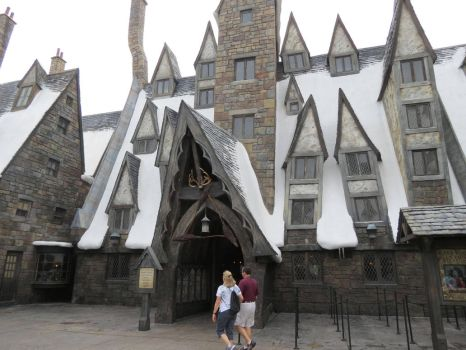 hogsmeade village station harry potter by Sceptre63