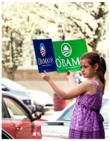 Kids For Obama by Siriuscanis