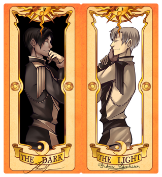 MAGE: The Dark and The Light by Spritetacular