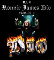 R.I.P Ronnie James Dio by Caramelxcore