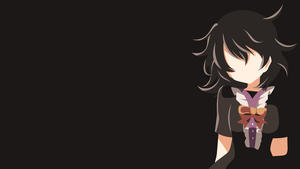 Touhou - Nue Houjuu minimalism wallpaper by Carionto
