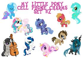 Mlp Cell Charms Set2 by wanabiEPICdesigns