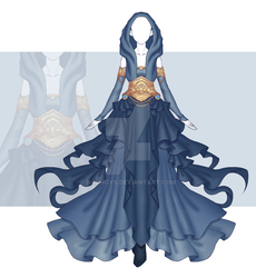 [Close] Adoptable Outfit Auction 204 by Kolmoys