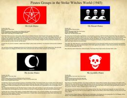 Strike Witches: Pirate Flags and Groups by ThanyTony
