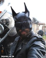 Rockabilly Batman with Goggles by Epic-Leather