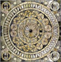 medieval tiled floor by photodash