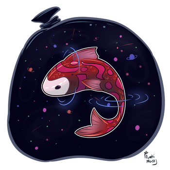 Cosmic Koi by PumkiMask